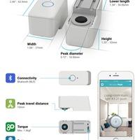 Microbot push - egyszerű gombnyomás
