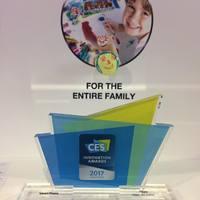 CES 2017 - Okosotthon kategória Innovációs díja: FIBARO Button