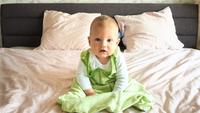 Őszi hálózsák babáknak 7 lépésben ingyenes szabásmintával