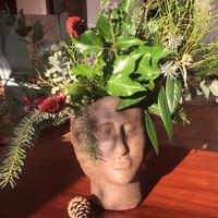 Karácsonyi virágdekorációm