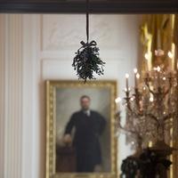 Karácsonyi dekor a fehér Házban