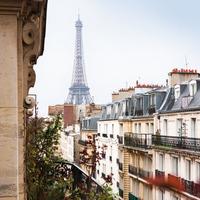Párizsi kockák XVII: kilátás az Eiffel Toronyra