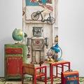 Babaszoba tervezés: a fal dekorálása