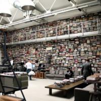 Karl Lagerfeld könyvtára