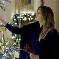 A Fehér Ház 2018-as karácsonyi pompája