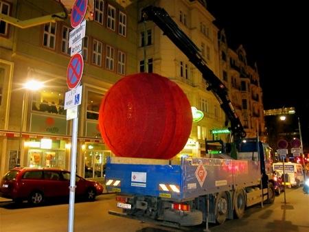 Advent Bécsben I. - Kulissza épül