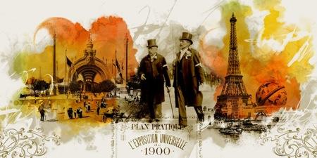 Párizs a falon