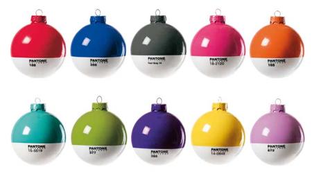 Karácsony 2011: Panton gömbök