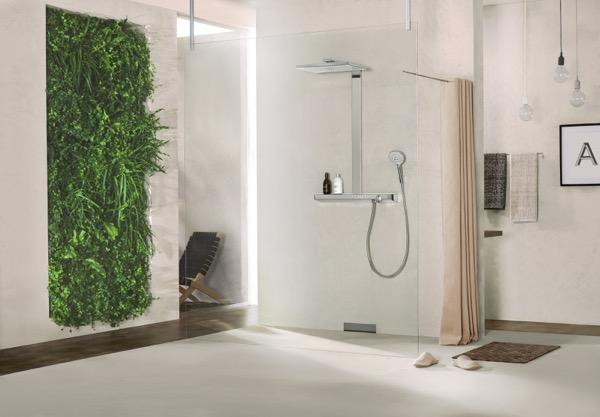 Zuhanycsere falbontás nélkül
