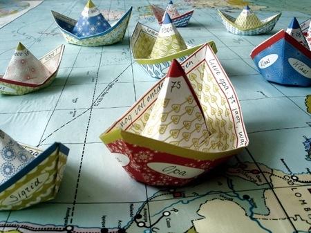 Papírhajó flotta