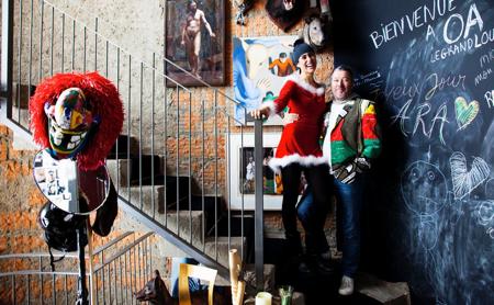 Philippe Starck lakása - látogatás az állatfarmon