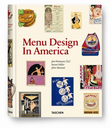 Menü dizájn Amerikából