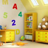 Élénk színek a lakásban