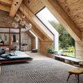 10 inspiráló ötlet a tetőtér kialakításához