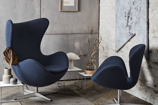Ikonikus bútorok 2. – Egg és Swan fotelek