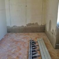 Így kerül a gipszkarton fal a helyére