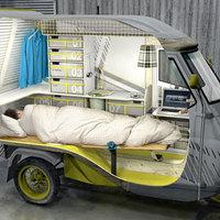 Hetikép: mini lakókocsi