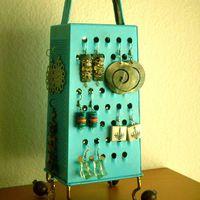 DIY variációk ékszerek és egyéb kiegészítők rendszerezésére