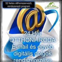 #24.HÉT - OTTHONI IRODA - Email és egyéb digitális dolgok rendszerezése