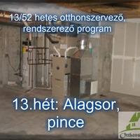 #13.HÉT: TÁROLÓHELYSÉGEK - Az alagsor rendszerezése