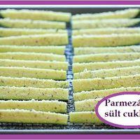 Parmezános sült cukkíni