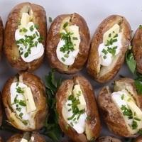 Héjában sült krumpli lassúfőzőben
