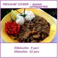 PRESSURE COOKER - Gombás csirkepaprikás
