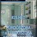#25.HÉT - FÜRDŐSZOBA - A fürdőszoba rendszerezése