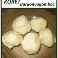 KÖRET - Burgonyagombóc