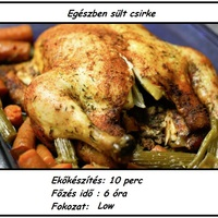 Slow Cooker - Egészben sült csirke
