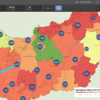 Így oszlik el mínusz 260 ezer magyar az országban!