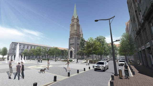 Mélygarázs helyett gyalogos és biciklisbarát teret kap Ferencváros!