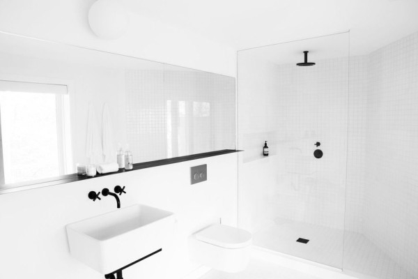 3 minimál fürdőszoba