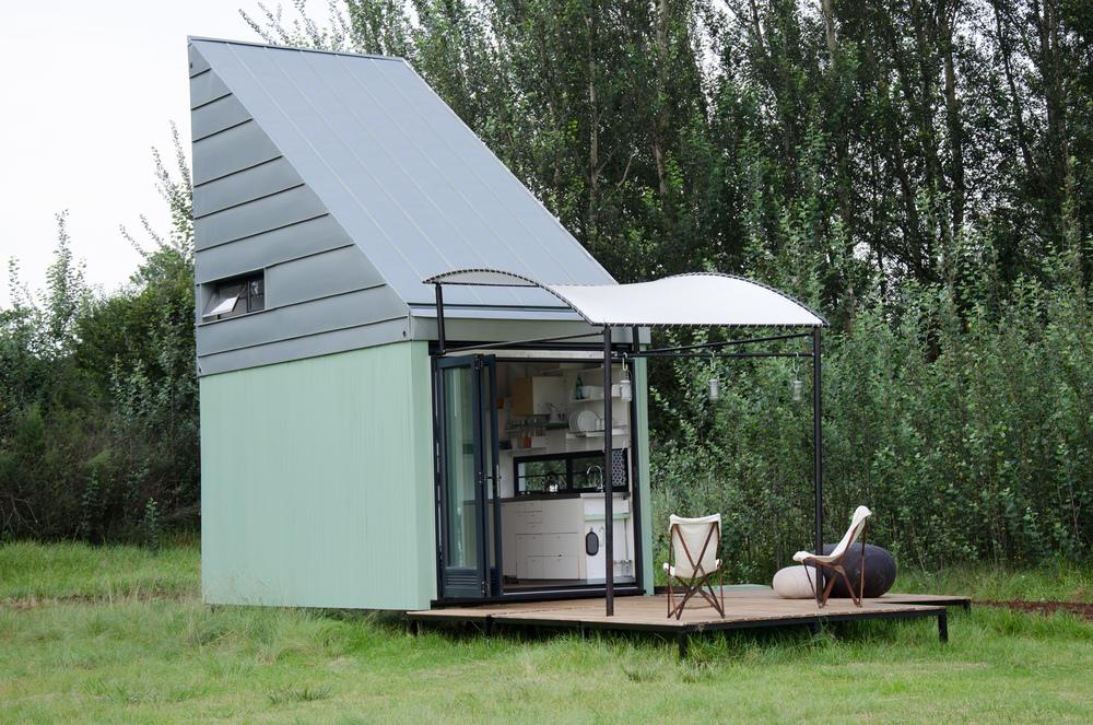 17 négyzetméteres dizájnos ház