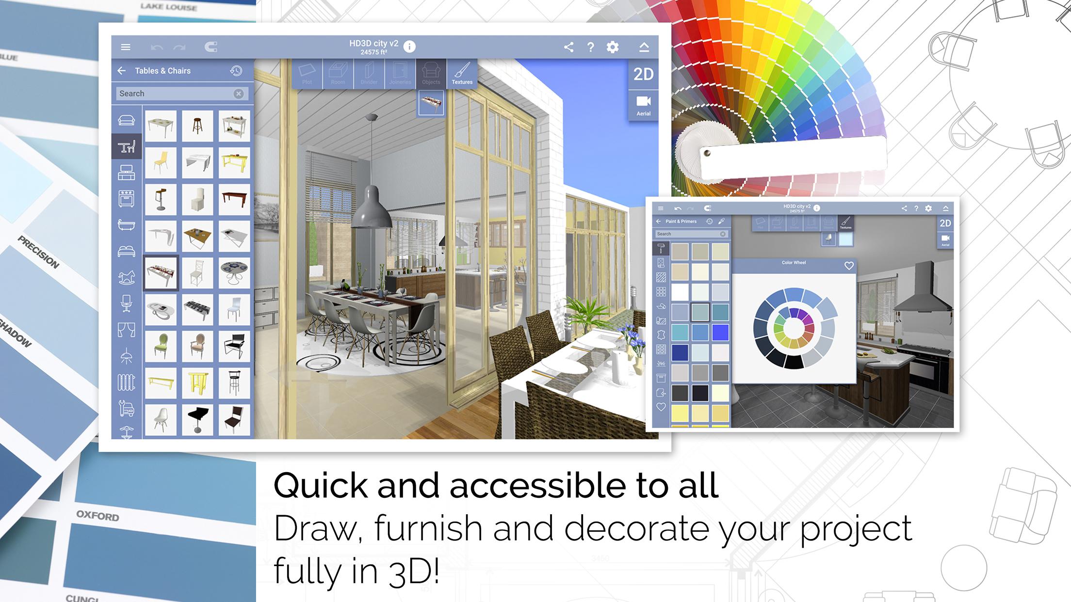 Lejárt a kézi skiccek ideje! Ma már a lakásfelújítást is applikációval tervezzük!