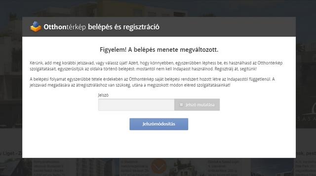 Változik az Otthontérkép regisztrációs rendszere!