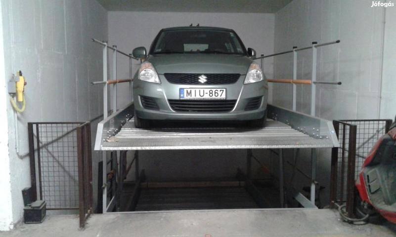 Parkolási díj: Elfogytak a zuglói garázsok