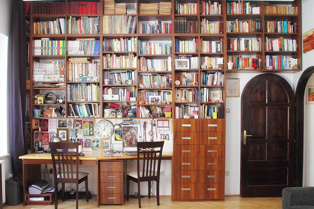 Ilyen ha otthon van saját könyvtárad