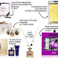 Karácsonyi ajándékötletek parfümmániásoknak