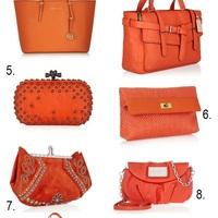 Májusi kötelező: szerezz be egy narancs árnyaltú táskát!