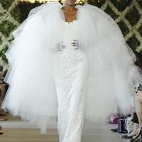 Világoskék esküvői ruhák Oscartól