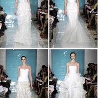 Reem Acra 2013 tavaszi menyasszonyi ruhák