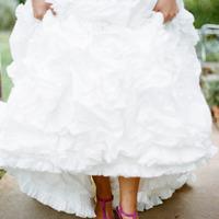 Olvasói kérdés: Milyen cipőben menjünk férjhez?