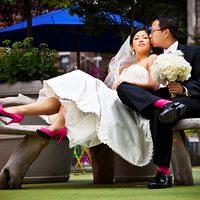 Esküvői trendfigyelő: amikor a vőlegény zoknija a menyasszony cipőjéhez passzol