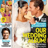 Az első képek Camila Alves és Matthew McConaughey esküvőjéről