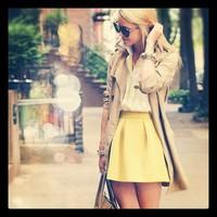 Napi tipp: Szerezz be egy sárga szoknyát!