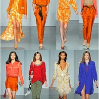 London Fashion Week: Matthew Williamson narancsai