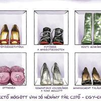 Vágó Réka tervezi az év legkiválóbb nőjének cipőjét