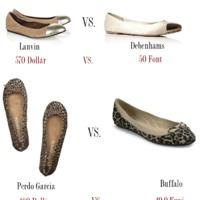 Olcsót vadászó cipőkörkép