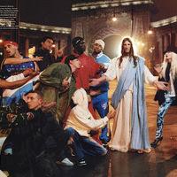 Jézus az iD magazinban pózol